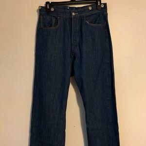 1890 501xx Original Levis Cinch Back Jeans